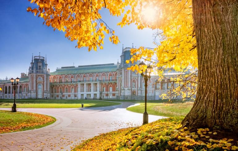 Парк-заповедник «Царицыно» в Москве