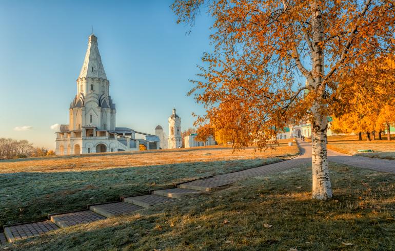 Парк-заповедник «Коломенское» в Москве