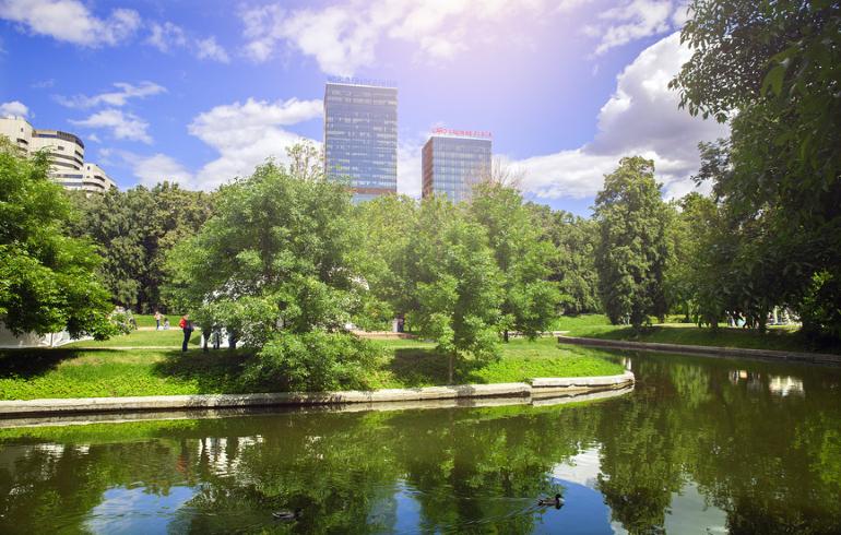 Парк «Красная Пресня» в Москве