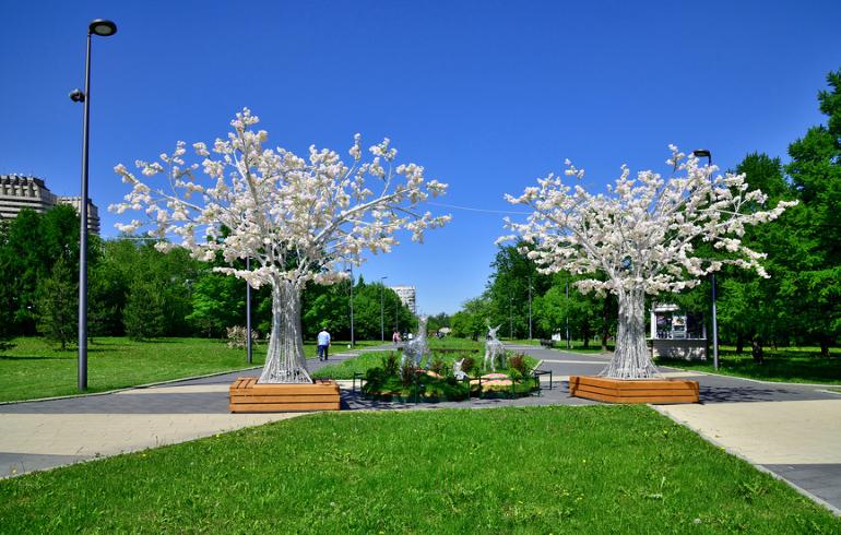 Парк «Садовники» в Москве