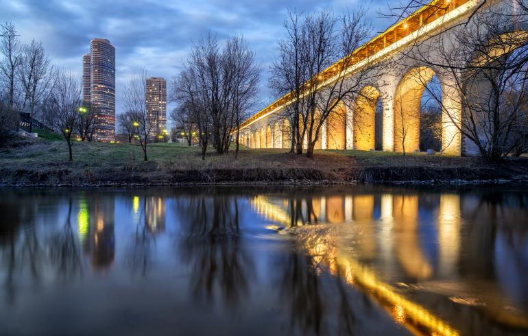Парк «Ростокинский Акведук» в Москве