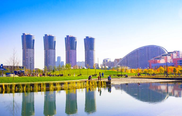 Парк «Ходынское поле» в Москве