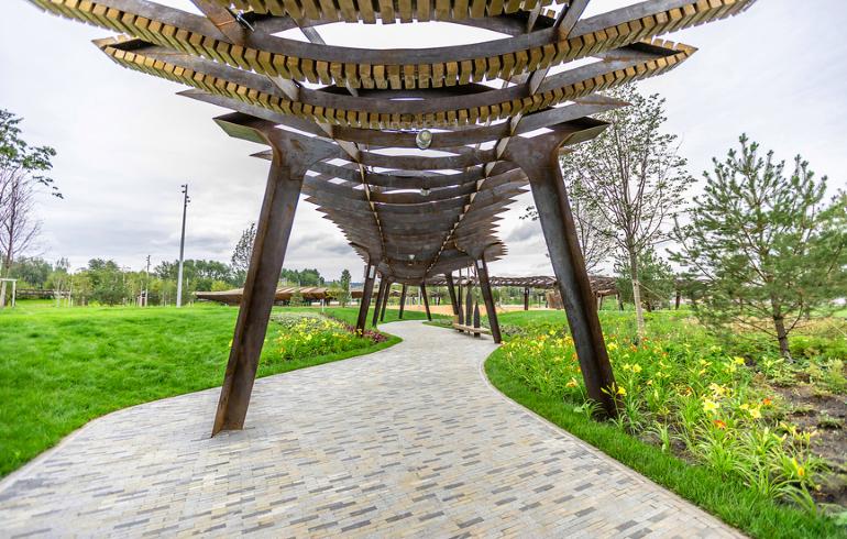 Парк «Тюфелева роща» в Москве