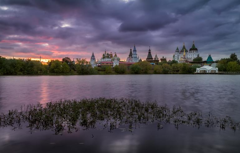 Серебряно-Виноградный пруд в Москве