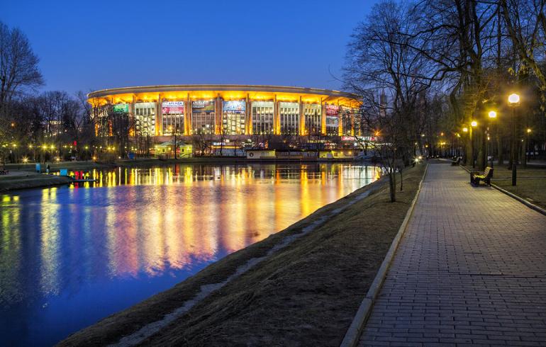 Большой Екатерининский пруд в Москве