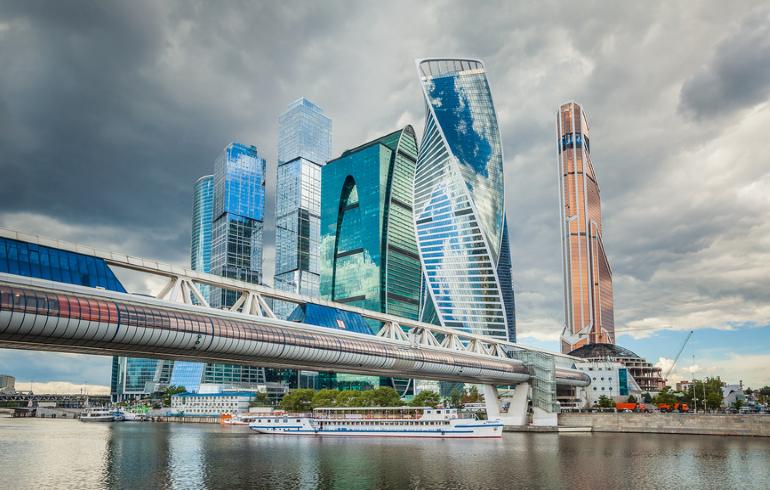 Теплоходная прогулка по Москве-реке от «Москва-Сити» до парка «Зарядье»