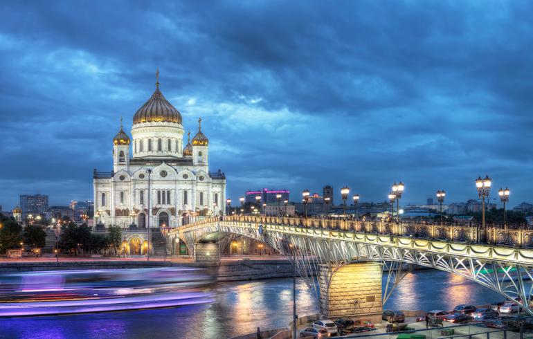 Пешеходно-теплоходная экскурсия «Мистическая Москва»