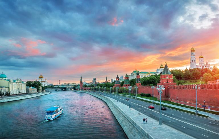 Теплоходная прогулка по Москве-реке от парка Горького