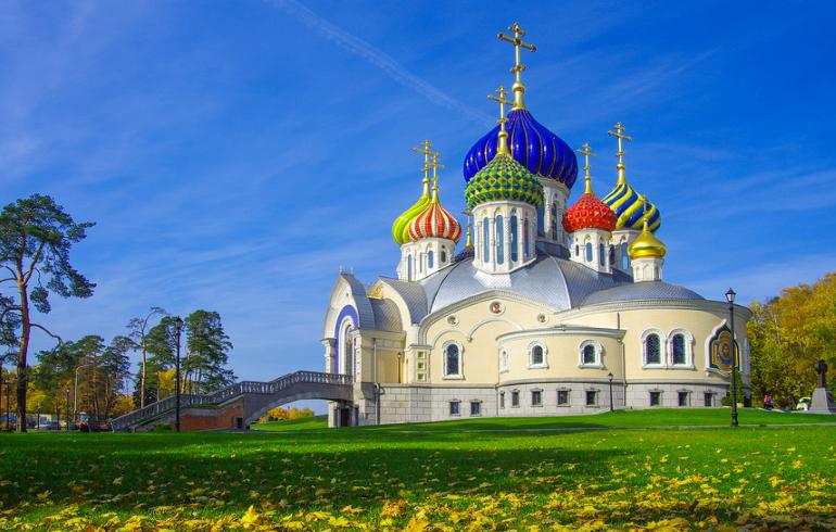 Храм святого благоверного князя Игоря Черниговского в Москве