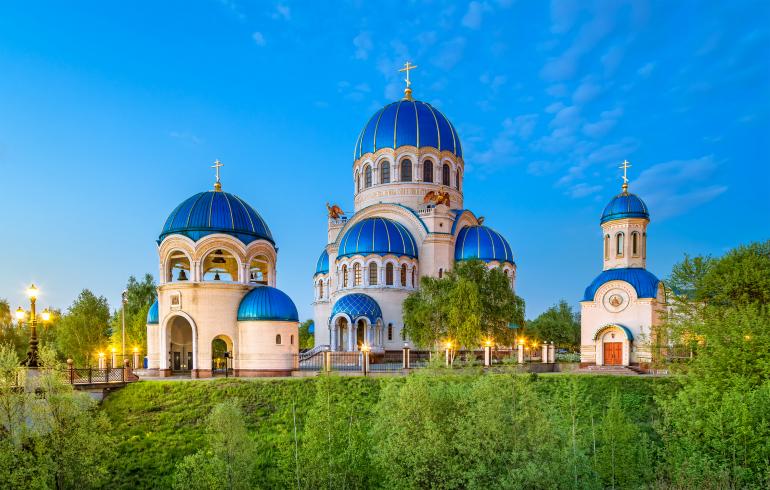 Храм Живоначальной Троицы на Борисовских прудах в Москве