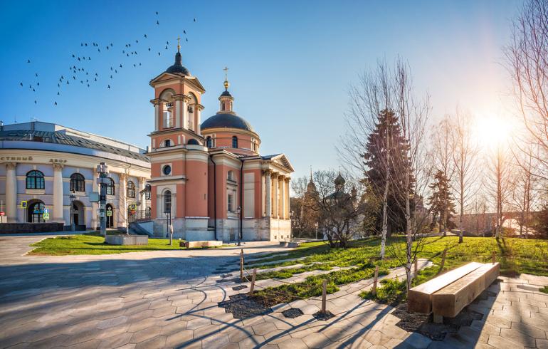 Церковь Георгия Победоносца на Псковской Горке в Москве