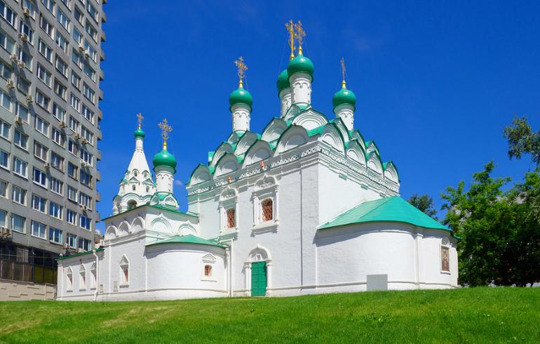 Церковь Симеона Столпника на Поварской в Москве