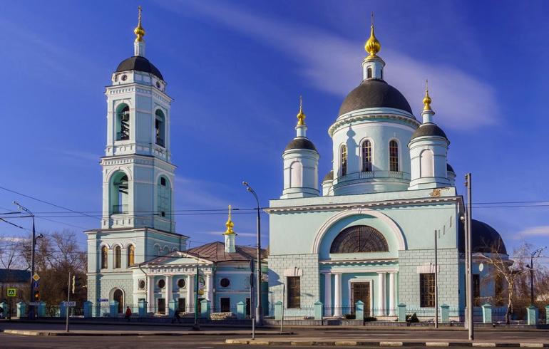 Храм Сергия Радонежского в Рогожской слободе в Москве