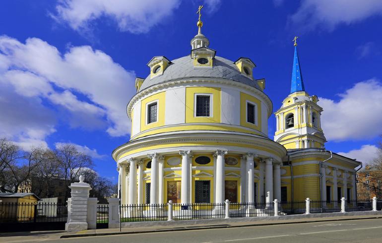 Храм Вознесения на Гороховом поле в Москве