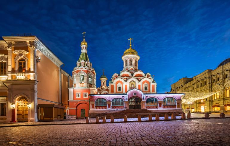 Собор Казанской иконы Божией Матери на Красной площади в Москве