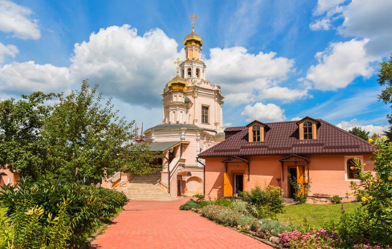 Церковь Бориса и Глеба в Зюзино в Москве