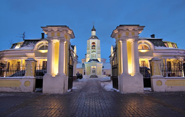 Церковь Филиппа Митрополита в Мещанской слободе в Москве