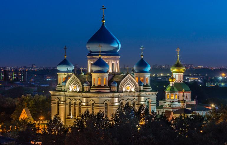 Монастыри Москвы. Николо-Перервинский монастырь