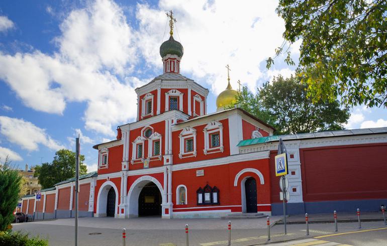 Монастыри Москвы. Зачатьевский ставропигиальный женский монастырь