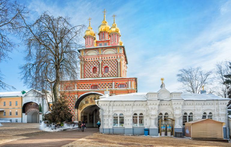 Монастыри Москвы. Иоанно-Предтеченский монастырь