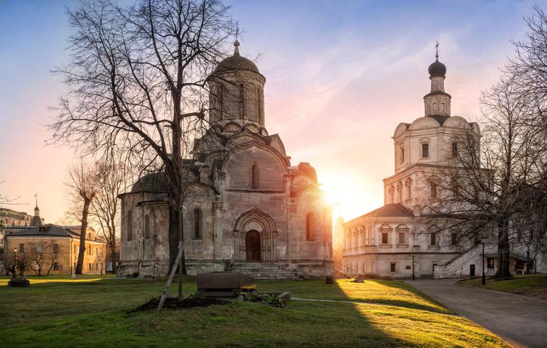 Монастыри Москвы. Спасо-Андроников монастырь