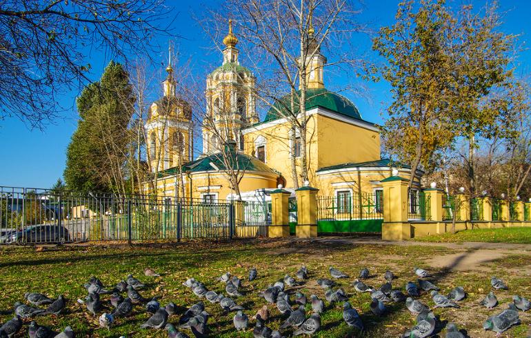 Монастыри Москвы. Новоспасский ставропигиальный мужской монастырь