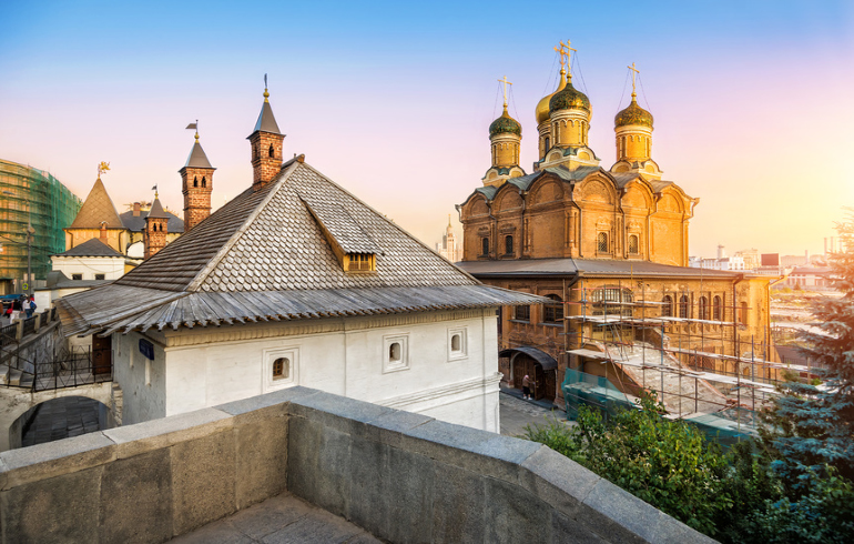 Монастыри Москвы. Знаменский монастырь, что на Старом Государевом дворе