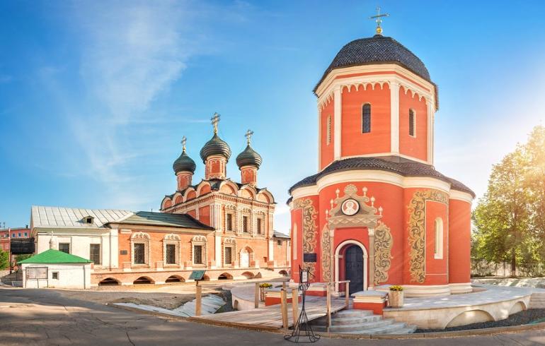 Монастыри Москвы. Высоко-Петровский мужской монастырь