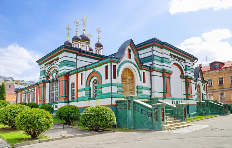Монастыри Москвы. Богородице-Рождественский женский монастырь