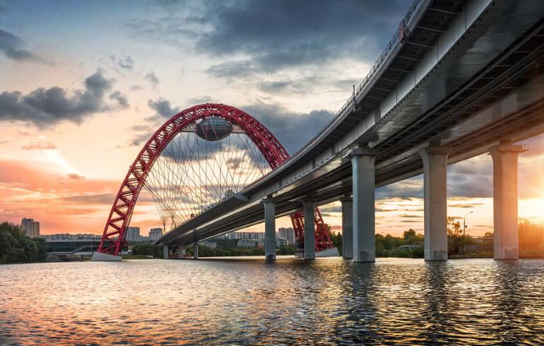 Самые красивые мосты Москвы