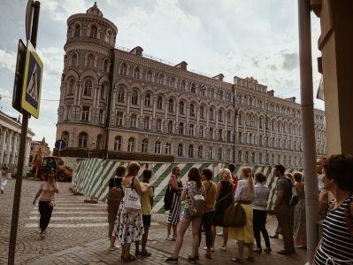 Пешеходная экскурсия по Китай–городу.