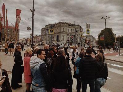 Пешеходная экскурсия по московским посольствам.