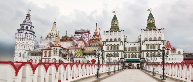52 места для свадебных прогулок в Москве и Подмосковье. Измайловский Кремль