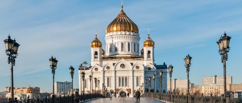 52 места для свадебных прогулок в Москве и Подмосковье. Храм Христа Спасителя