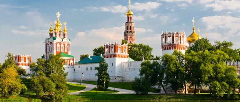 52 места для свадебных прогулок в Москве и Подмосковье. Новодевичий монастырь