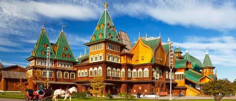52 места для свадебных прогулок в Москве и Подмосковье. Парк Коломенское