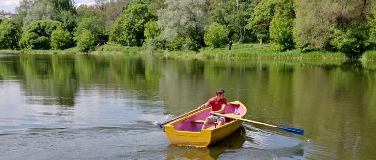 Где покататься на лодке в Москве?