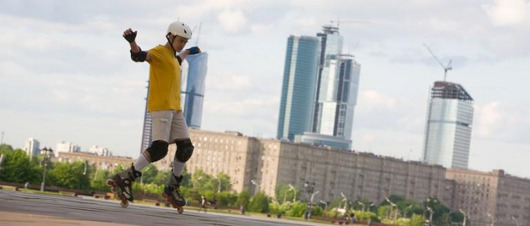 Где покататься на роликах в Москве?
