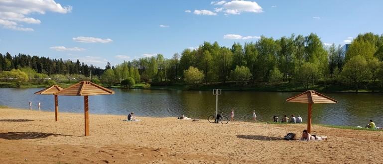 Пляжи Москвы: где купаться и загорать летом