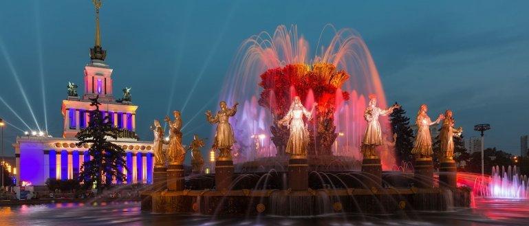 Авторская автобусная экскурсия по московским фонтанам