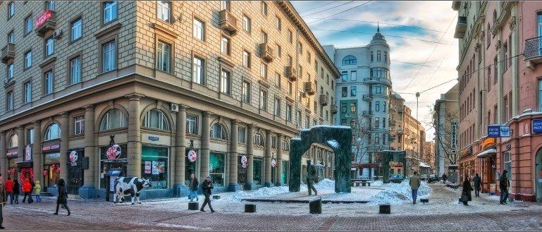 Пешеходная экскурсия поСтаромуАрбату в Москве