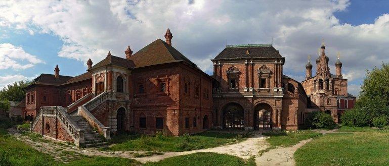 Шедевры Крутицкого подворья и Новоспасского монастыря