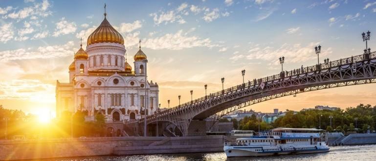 Обзорная экскурсия по Москве на автобусе. Храм Христа Спасителя и Патриарший мост