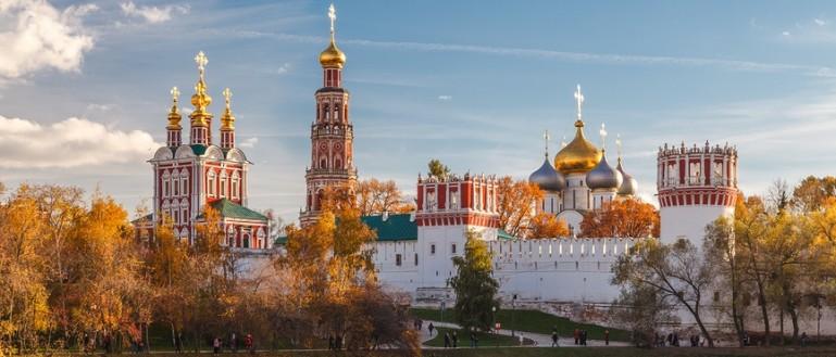 Обзорная экскурсия по Москве на автобусе. Новодевичий монастырь и Новодевичий пруд