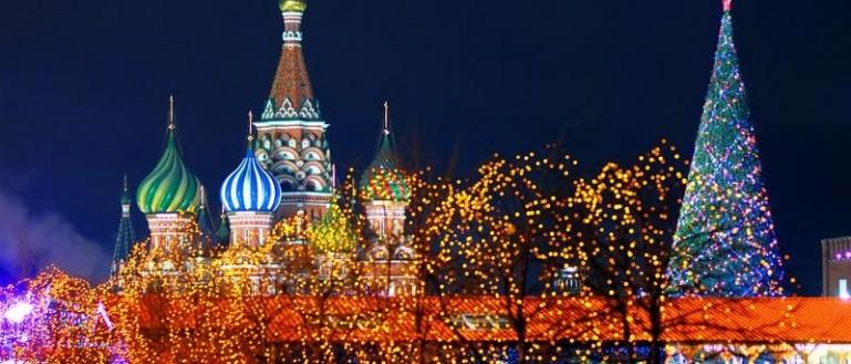 Автобусная новогодняя экскурсия по Москве – «Огни Новогодней Москвы»