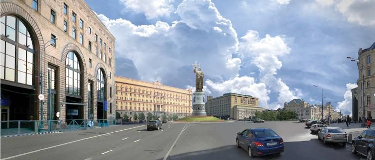 Ожерелье московских площадей (с посещением смотровой площадки)