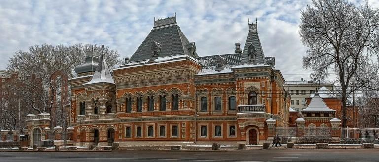 Якиманка. Из купеческой архитектуры в советскую