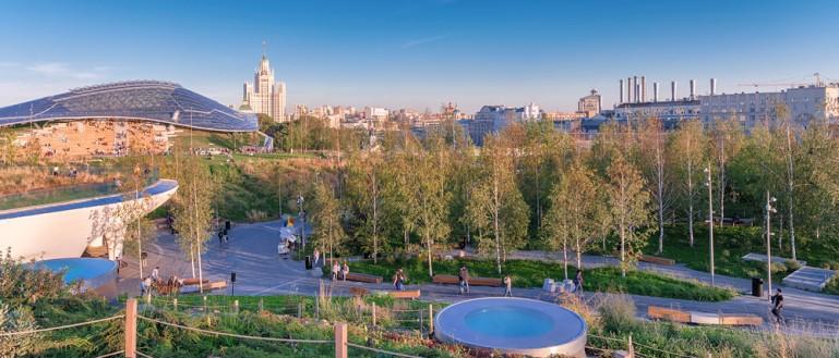 Парк «Зарядье». Путешествие по средневековой Москве