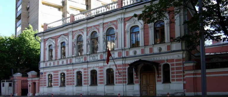 Авторская пешеходная экскурсия по московским посольствам