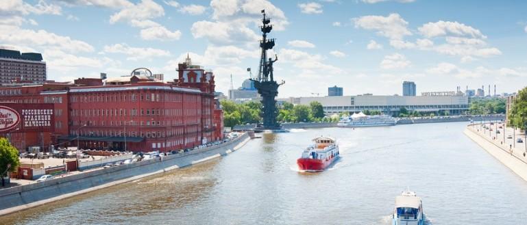 Теплоходная прогулка по центру Москвы от Киевского вокзала